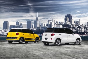 2014 Fiat 500L Trekking and 2014 Fiat 500L Lounge